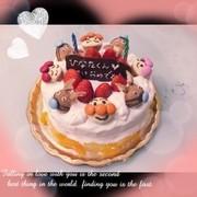 アンパンマンケーキ☆の写真