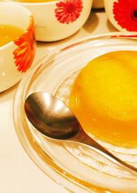 はっさく寒天◆食後のさっぱり簡単デザート