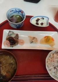 血管プラークダイエット食182(朝定食)