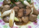 カジキマグロの葱照り焼き