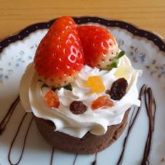バレンタイン☆しっとりチョコケーキ