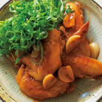 鶏手羽先のさっぱり煮
