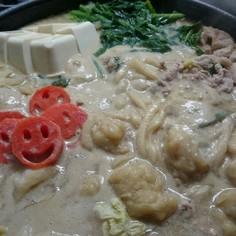 ☆豆乳味噌すいとん鍋☆