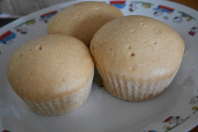 離乳食後期♡卵・乳なし!きなこ蒸しパン