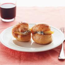 ブルーチーズ&りんごのシュー