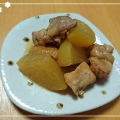 大根と鶏モモ肉の煮物