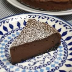 簡単♪チョコレートチーズケーキ