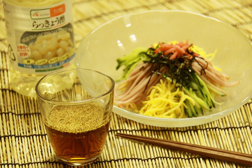 【Aコープ】らっきょう酢冷やし中華のタレ