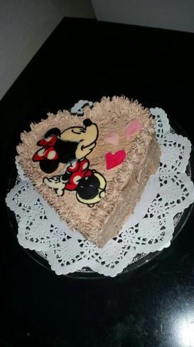 超簡単!キャラクター チョコレートケーキ