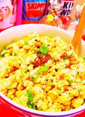ダイエット◆糖質制限◆木綿豆腐チャーハン