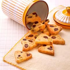 お豆のアイスボックスクッキー