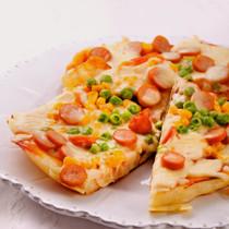 ヨーグルトナンのピザ