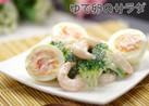 簡単▶海老とブロッコリーとゆで卵のサラダ