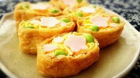 オシャレいなり寿司♡ひな祭りやお花見に!