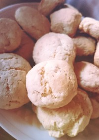 クッキー感覚なレモンのスコーン
