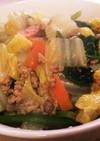簡単丼♡ランチ♡豚挽肉と野菜のあんかけ丼