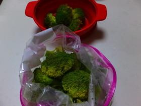 茹でずに冷凍ブロッコリー☆保存方法