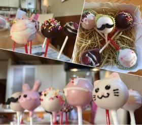 簡単ロリポップケーキ 猫 ケーキポップ By さくらちゃんママ