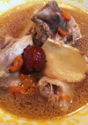 台湾薬膳スープ「麻油鶏」☆旨い〜☆