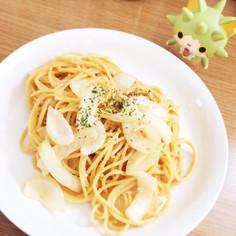 簡単お手軽☆玉ねぎの味噌マヨパスタ