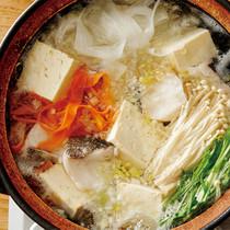 たらと豆腐の鍋