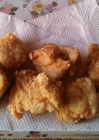 鶏胸肉の塩唐揚げ