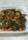 野菜たくさん、やわらか酢豚