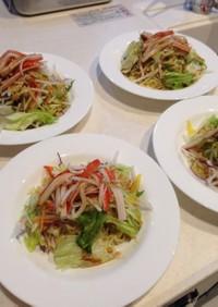 マルちゃん正麺 冷やし中華サラダ