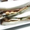 岡山サンドイッチ☆味付き海苔が極め手!