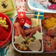 3歳 思い出作り遠足のお弁当