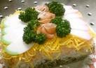 ひなまつりの菱餅風ライスケーキ