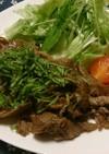 牛肉すき焼きのタレ焼肉