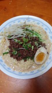冷やし豆乳担担麺の写真