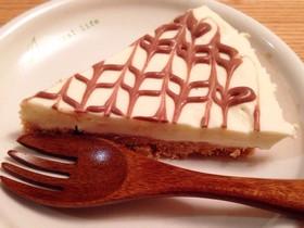 バレンタイン♪FPで簡単レアチーズケーキ