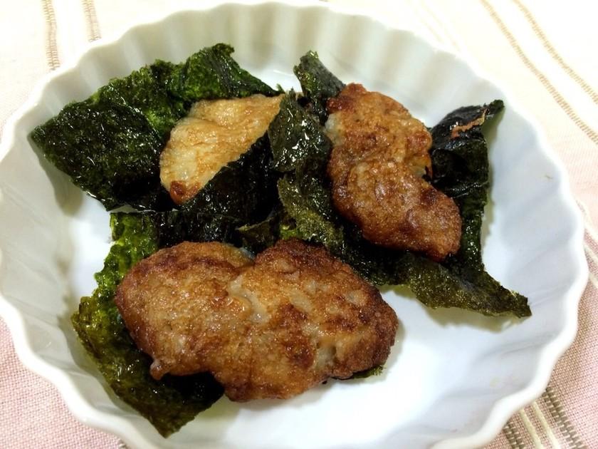 妊活レシピ♡納豆と長芋の磯辺焼き