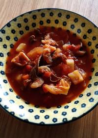 ビーツなし!ボルシチ風煮込みスープ