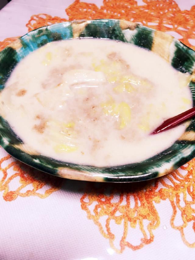 ダイエットに☆むね肉と白菜の豆乳スープ