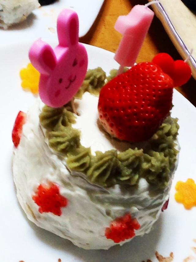 一歳☆誕生日ケーキ※卵小麦アレルギー対応