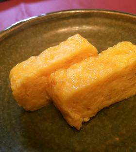 お寿司屋さんの甘い玉子焼き♪