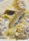 白菜と肉団子の飛鳥鍋風煮物