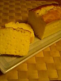 簡単しっとり♪チーズのパウンドケーキ