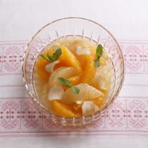 柑橘のジンジャーマリネ