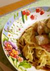 マルちゃん正麺海老とブロッコリーマヨサラ