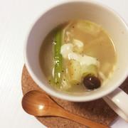 *葱とチーズのトロりんスープ*の写真