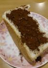 食パンにココア&はちみつで大人チョコパン
