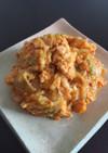 簡単♡キムチとマヨチーズたまごのおつまみ