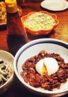 名古屋の味★味噌玉牛丼(牛肉味噌炒め)