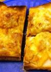 ツナとたまねぎのチーズトースト:タモパン