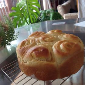 HBリンゴのちぎりパン
