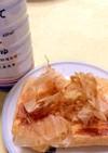 簡単おつまみ☆焼き油揚げには生姜しょうゆ